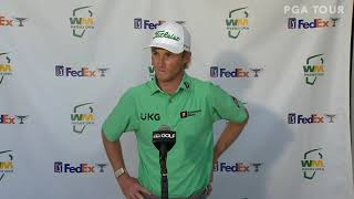 Will Zalatoris Saturday Flash Interview 2021 Waste Management Phoenix Open - Round 3