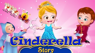 Baby Hazel Cinderella Story | Fairy Tales for Kids | Animated Movie by Baby Hazel Cartoons