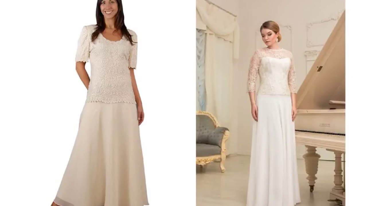 Wedding Dresses For Plus Size Over 50