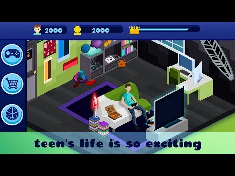 Teenage Life Social Media Tycoon Idle Clicker Gameplay Video Android/iOS