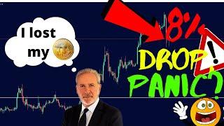 Is Bitcoin Going Down? Peter Schiff Lost BTC Wallet Password