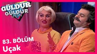 Güldür Güldür Show 83. Bölüm, Uçak Skeci