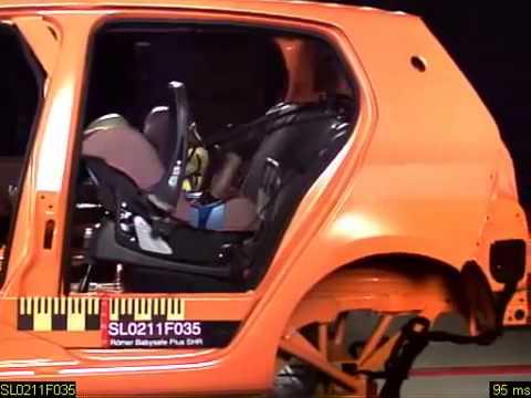 Crash Test ROMER Baby Safe Plus SHR II