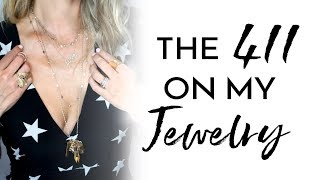 Where I Buy My Jewelry + How I Layer | Molly Sims 2018