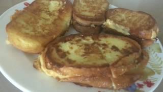 Гренки с сыром//Тосты//Быстрый и вкусный завтрак