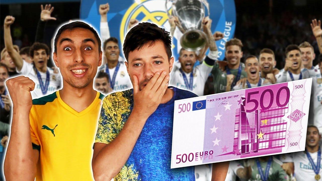 ENDETTÉ ON PARI 500€ SUR LA FINALE!