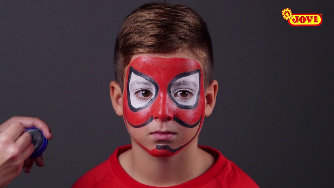 Cum Sa Faci Un Machiaj De Super Erou Spiderman Cu Ajutorul