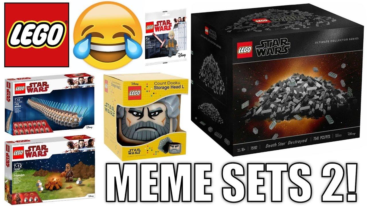 Funny Lego Star Wars Meme Sets 2 Youtube