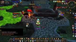 Discipline Priest and Arms Warrior Arena Molten-wow 3.3.5