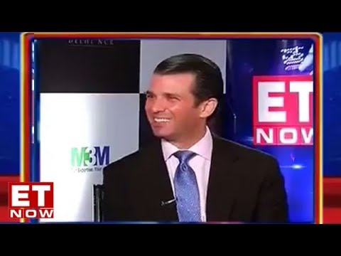 Donald Trump Jr Speaks To ET Now | Exclusive