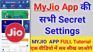 [ My Jio App Full Tutorial ] - MyJio app kaise chalate hain  | How to use Myjio App Full Tutorial screenshot 2