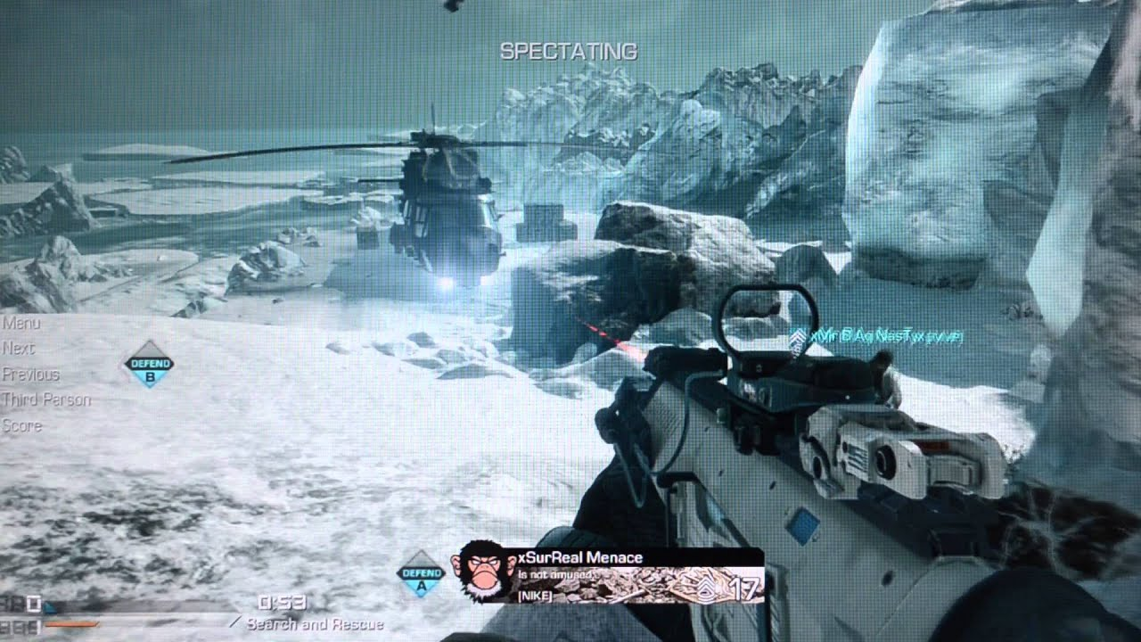 Whiteout Snow Map - Call of Duty Ghosts Gameplay - YouTube on