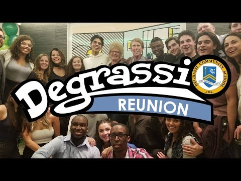 I Hung Out At A Degrassi Reunion.