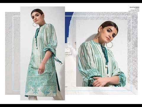 f29606a000 Alkaram Studio Spring/Summer Lawn 2019-20=2 Piece Collection Vol-1 ...