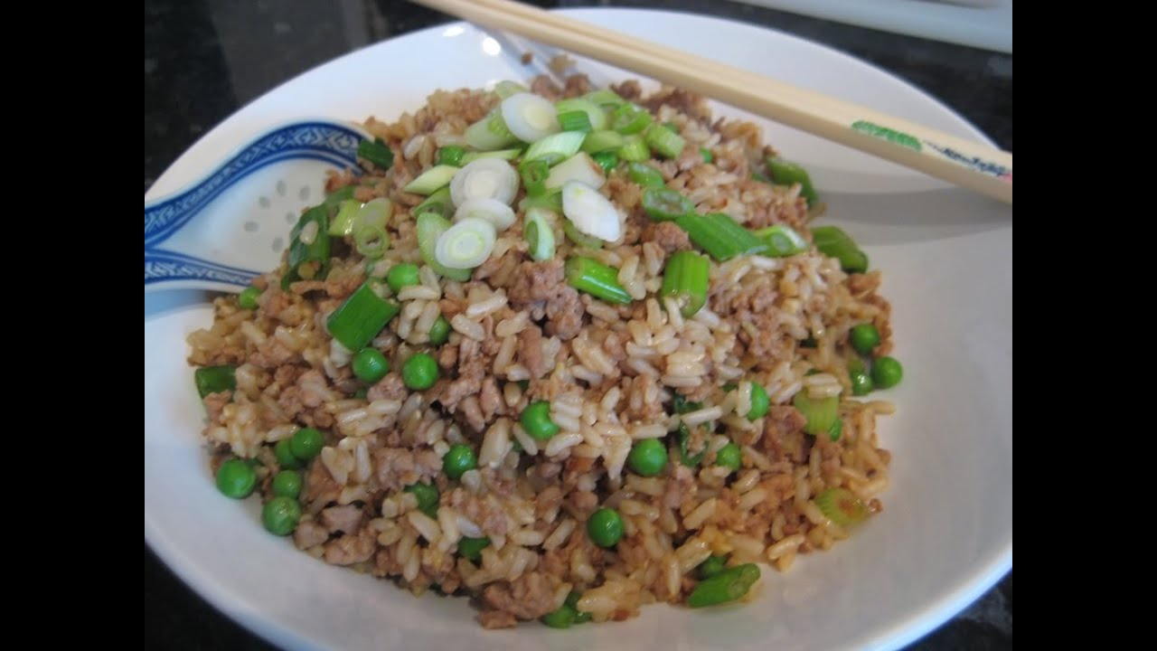 How to make healthy fried rice with brown rice youtube youtube premium ccuart Image collections