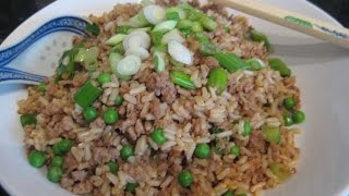 How To Make Healthy Fried Rice with Brown Rice
