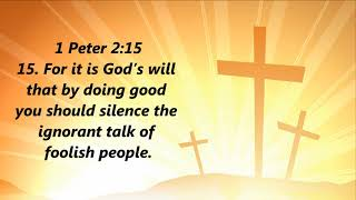 Bible Verses (Topic: God's Will)