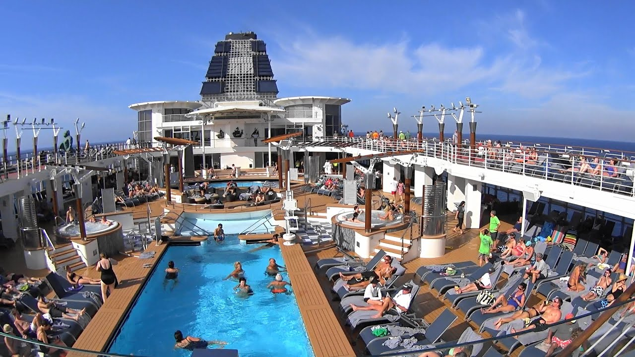 Carnival Elation Deck Plans, Diagrams, Pictures, Video