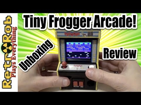 Arcade Classics 06 Frogger: Walmart Exclusive Unboxing and Review