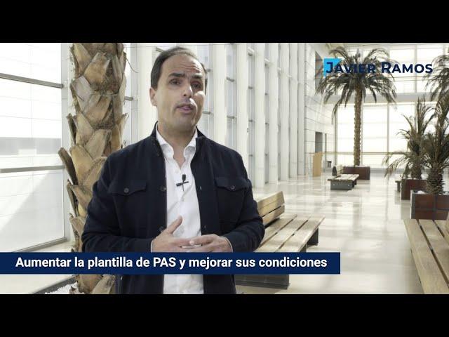 Mejora de la plantilla del PAS