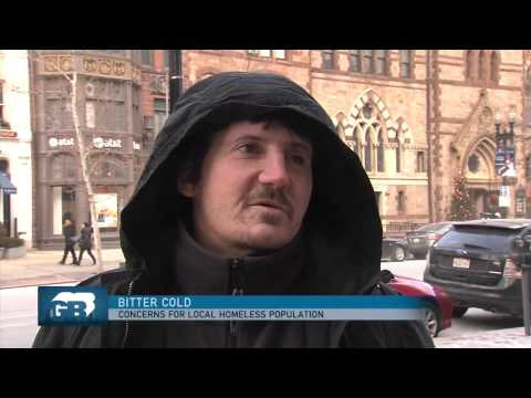 Greater Boston Video: In Bitter Cold, Concerns For Boston's Homeless