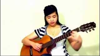 Hoa Trinh Nữ (Cover: Virginia Nguyen - Bé Mẫn) Guitar solo