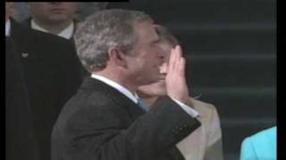 George Walker Bush Oath of Office 2001 ---- VIDEO ----