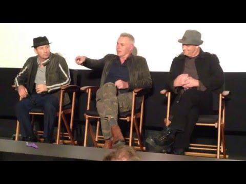 Savage Streets - Q & A with Johnny Venocur, Sal Landi, and Scott Mayer - Los Angeles - 2016