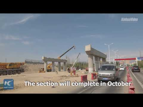 Key section of China-Europe highway near completion