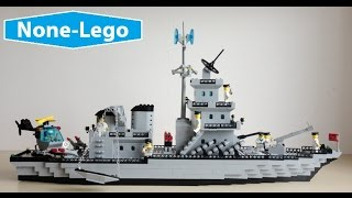 This NOT a Lego navy boat, it from Enlighten Brick toy maker