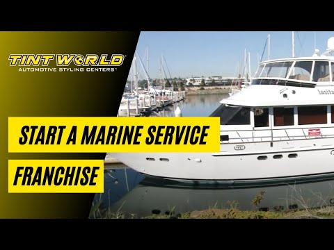Marine Services Business - Tint World Boat and Yacht Franchise