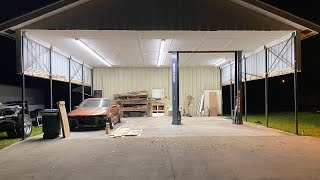 homepage tile video photo for Huge upgrade to my New Shop! (Some ceiling cutting required..)