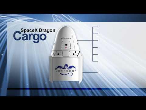 SpaceX CRS-14 Berthing - April 4, 2018