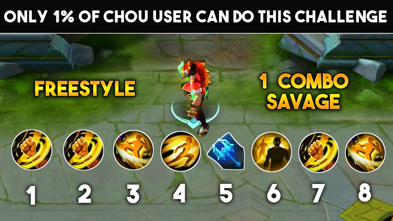 The Hardest iNSECTiON CHOU FREESTYLE Ever!!  ( 1 Combo Savage Chou FreeStyle Challenge )