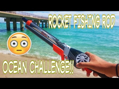 Thumbnail: Rocket Fishing Rod Catches Fish In Ocean Challenge!?!