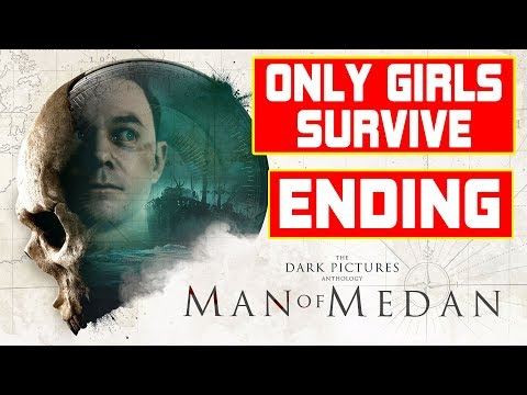 The Dark Pictures Anthology: Man of Medan - Only Women Survived Ending (Girls' Night Out Trophy)