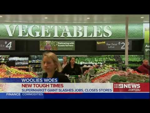 Woolworths to slash jobs and shuts stores in $1 billion restructure