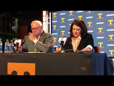 Phillip Fulmer thrilled for new job as Tennessee