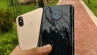 Mi A2 vs Moto G6 Camera Comparison!!!