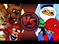 FREDDY FAZBEAR CREW vs DOLAN GANG! Cartoon Fight Club Episode 77