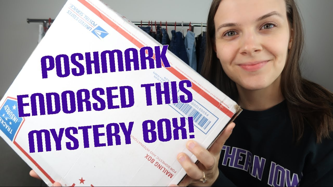 Poshmark X Goodwill Reseller Mystery Box Review