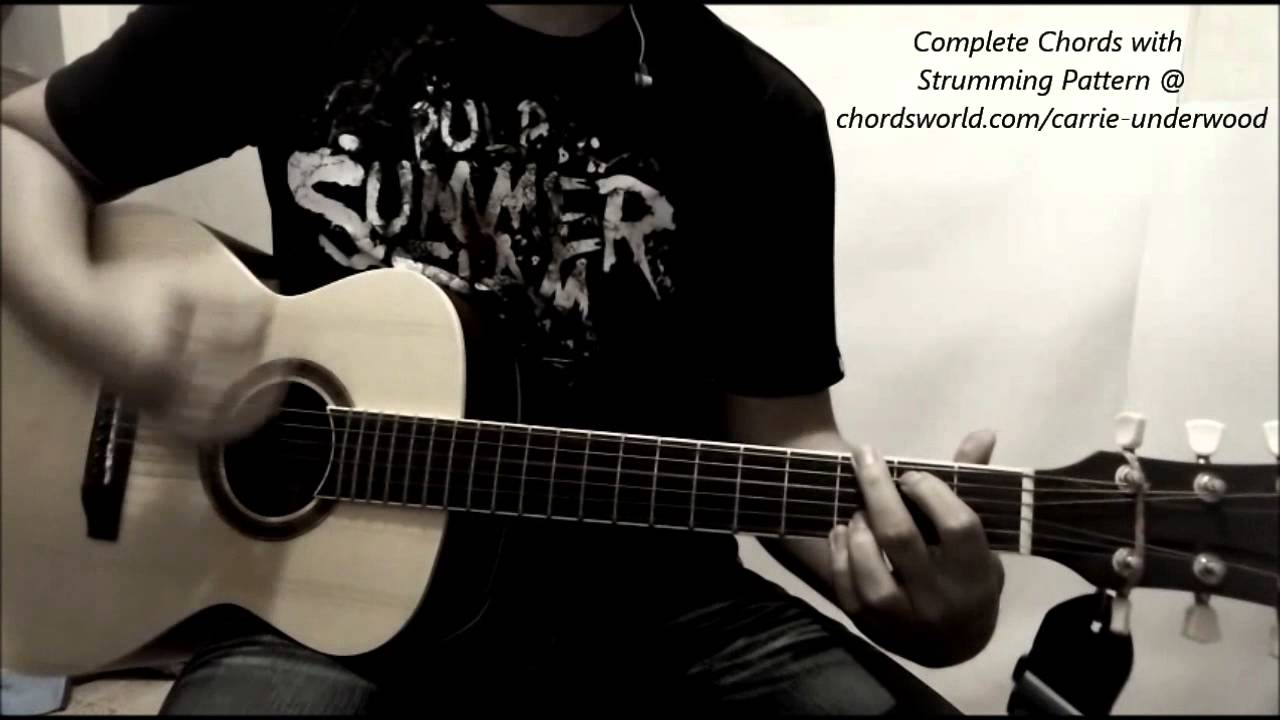 Carrie Underwood Little Toy Guns Chords Youtube