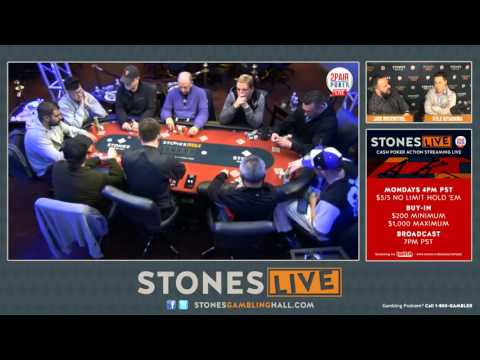 $5/$10 No-Limit Hold 'em - Jan. 20, 2016 (Part 3)