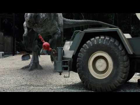 Jurassic World- Indominus Rex Escape Scene