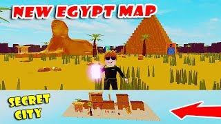 I Found Secret City in *New* EGYPT Map Update! | Got Purple & Blue Key | Speed Simulator X! [Roblox]