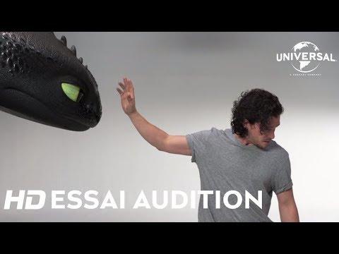 Dragons 3 : Le Monde Caché / Essai Audition Kit Harrington [Au cinéma le 6 février]