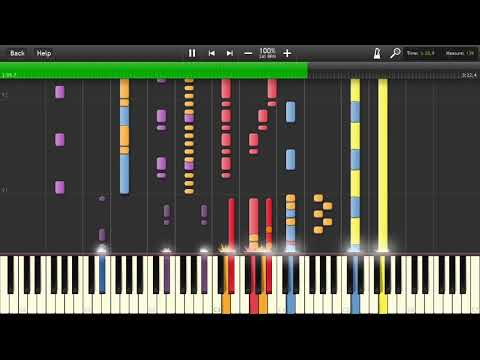 Deck the Halls - Mannheim Steamroller - Transcription Synthesia [60fps/HD]