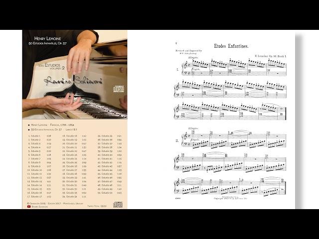 Henry Lemoine: Estudio Op. 37 No. 1