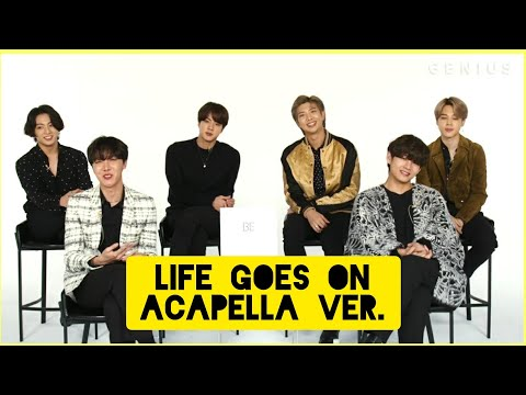 BTS - LIFE GOES ON Vocal Only (Acapella ver.)