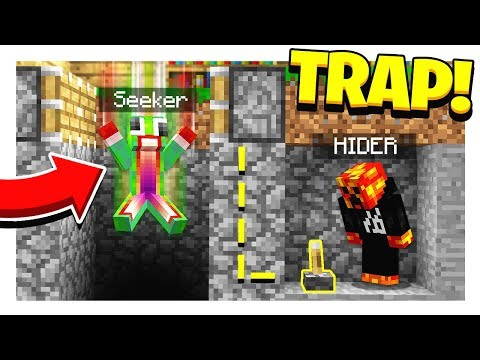 MINECRAFT HIDE AND SEEK! | HOW TO TRAP A SEEKER! - Minecraft Mods thumbnail